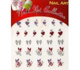 Absolute Cosmetics Nail Art samolepící nálepky na nehty GNS 36 1 aršík