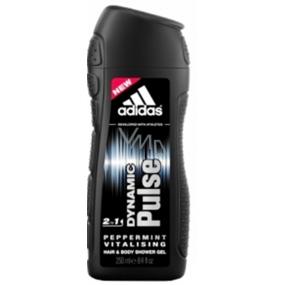 Adidas Dynamic Pulse 2v1 sprchový gél na telo a vlasy pre mužov 250 ml