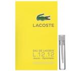 Lacoste Eau de Lacoste L.12.12 Yellow (Jaune) toaletní voda pro muže 2 ml, Vialka