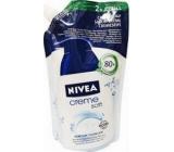 Nivea Creme Soft tekuté mýdlo s mandlovým olejem náhradní náplň 500 ml