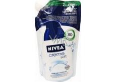 Nivea Creme Soft tekuté mydlo s mandľovým olejom náhradná náplň 500 ml