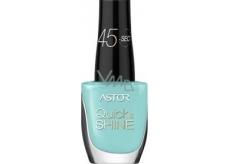 Astor Quick & Shine Nail Polish lak na nehty 609 Splash Of The Ocean 8 ml
