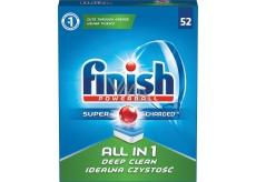 Finish All in 1 Deep Clean tablety do myčky nádobí 52 kusů