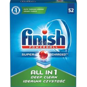 Finish All in 1 Deep Clean tablety do umývačky 52 kusov