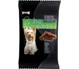Mlsoun Mini Bones údené doplnkové krmivo pre psov 50 g