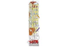 Monu Veselý meter Hasiči skladačka k vymaľovanie pre deti 5+ 160 x 40 cm
