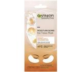 Garnier Moisture + Fresh Look s šťavou z pomaranča a kyselinou hyalurónovou povzbudzujúci textilné maska na oči 15 minútová 6 g