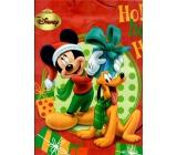 Ditipo Disney Dárková papírová taška pro děti L Ho! Ho! Ho! 26,4 x 12 x 32,4 cm