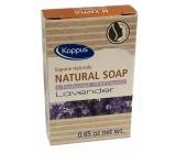 Kappus Natural Levanduľa certifikovanej prírodnej toaletné hotelové mydlo 13,5 g