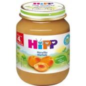 Hipp Ovocie Bio Marhule ovocný príkrm, znížený obsah laktózy a bez pridaného cukru pre deti 125 g