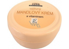 Luna Natural Vitamín E mandľový výživný krém 200 ml