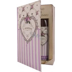 Bohemia Gifts & Cosmetics Kniha Rozprávka o mamičke sprchový gél 250 ml + olejový kúpeľ 200 ml (s príjemnou levanduľovou vôňou), kozmetická sada