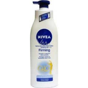 Nivea Q10 Plus Firming Zpevňující tělové mléko pro normální pleť dávkovač 400 ml