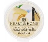 Heart & Home Francouzská vanilka Sojový přírodní vonný vosk 27 g