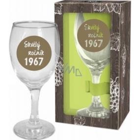 Albi Môj Bar Pohár na víno 1967 220 ml