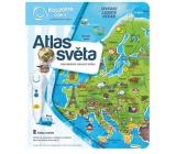 Albi Kúzelné čítanie interaktívne hovoriace kniha Atlas sveta
