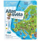 Albi Kouzelné čtení interaktivní mluvící kniha Atlas světa