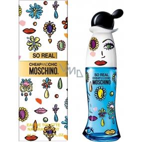Moschino So Real Cheap and Chic toaletná voda pre ženy 100 ml