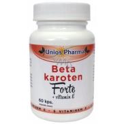 Uniospharma BTA Karotén Forte s vitamínom E 60 kapslí 4411