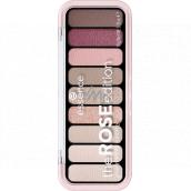 Essence The Rose Edition Eyeshadow Palette paletka očných tieňov 20 Lovely In Rose 10 g