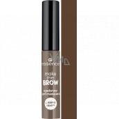 Essence Make Me Brow Eyebrow Gél gélová riasenka na obočie 05 Chocolat Browse 3,8 ml