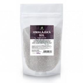 Allnature Himalájska soľ čierna obsahuje vysoký obsah železa a ďalších minerálnych látok 500 g