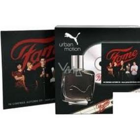 Puma Urban Motion Man toaletná voda 25 ml + DVD, darčeková sada