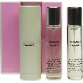 Chanel Chance Eau Fraiche toaletná voda komplet pre ženy 3 x 20 ml