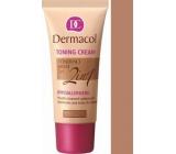 Dermacol Toning Cream 2v1 make-up Caramel 30 ml