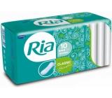 Ria Classic Singles Normal hygienické vložky bez křidélek 10 kusů