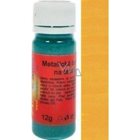Art e Miss Barva na světlý i tmavý textil 63 metalická pomerančová 12 g