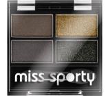 Miss Sporty Studio Colour Quattro oční stíny 414 100% Smokey 3,2 g