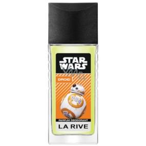 La Rive Star Wars Droid parfumovaný deodorant sklo pre mužov 80 ml