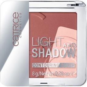 Catrice Light And Shadow Contouring Blush tvárenka 010 Bronze Me Up, Scotty! 8 g
