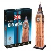 CubicFun Puzzle 3D Big Ben 47 dielikov 12 x 51,5 x 12 cm