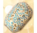 Nekupto Klubíčko Luxus béžovo-modro-zlaté 1 cm x 10 m