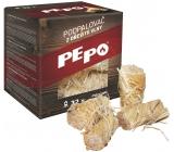 Pe-Po Podpalovač z dřevité vlny 32 kusů