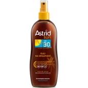 Astrid Sun OF30 olej na opaľovanie 200 ml sprej