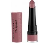 Bourjois Rouge Velvet The Lipstick rúž 18 Mauve-Martre 2,4 g
