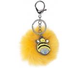 Me to You My Dinky Bear kľúčenka Pom Pom žltá 7 cm