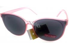 Dudes & dudettes Slnečné okuliare pre deti svetlo ružové DD16015