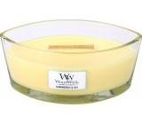 Woodwick sviečka loď Lemongrass + Lily 0652