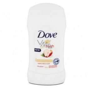 Dove Go Fresh Jablko & Biely čaj tuhý antiperspirant dezodorant stick s 48-hodinovým účinkom pre ženy 40 ml