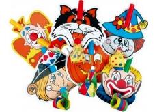 Frkačky s klaunom 6 kusov