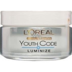 Loreal Paris Youth Code Kód Mladosť rozjasňujúci a hydratačný starostlivosť denný krém 50 ml