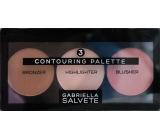 Gabriella salva Contouring Palette sada pre zvýraznenie kontúr tváre 15 g