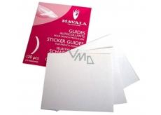 Mávala French Manicure Sticker Guides šablóny pre francúzsku manikúru 120 kusov