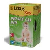 Leros Baby Bio bylinný čaj pre deti 20 x 2 g