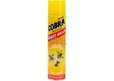 Super Cobra Kills Flying Insects sprej proti létajícímu hmyzu 400 ml