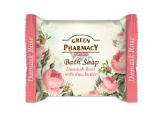 Green Pharmacy Damašský ruže a Bambucké maslo toaletné mydlo 100 g